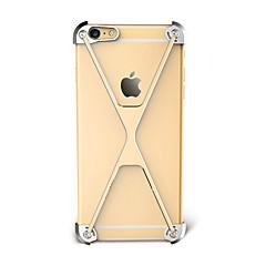 Na Odporne na wstrząsy Kılıf Bumper Kılıf Jeden kolor Twarde Aluminium na Apple iPhone 7 Plus iPhone 7 iPhone 6s Plus/6 Plus iPhone 6s/6