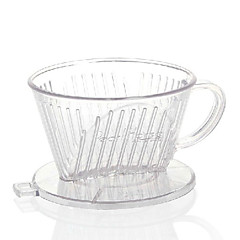 ml Ακρυλικό Φίλτρο καφέ , 4 φλιτζάνια Drip Καφές Κατασκευαστής Επαναχρησιμοποιήσιμο Manual
