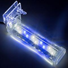 Ενυδρεία Διακόσμηση Ενυδρείου Άσπρο Μπλε Μη τοξικό και χωρίς γεύση Λάμπα LED 220V