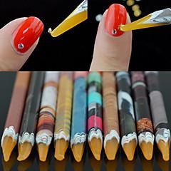 1PCS Adesivos para Manicure Artística Francês Guide Tips maquiagem Cosméticos Designs para Manicure