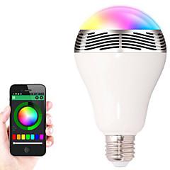 BL-05 무선 블루투스 4.0 스피커는 IOS / 안드로이드 / 태블릿 스마트 LED 조명 오디오 스피커를 변경 전구 색을 주도 RGB