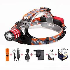 U'King Czołówki LED 2000 Lumenów 3 Tryb Cree XM-L T6 18650 Regulacja promienia Łatwe przenoszenie High Power Obóz/wycieczka/alpinizm