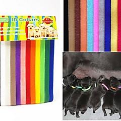 Kediler Köpekler Yakalar Güvenlik Tek Renk Naylon