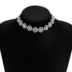 여성용 초커 목걸이 다이아몬드 Star Shape 합금 유니크 디자인 비키니 보석류 용 결혼식 파티 일상 캐쥬얼 1PC