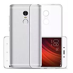 Mert Ultra-vékeny Átlátszó Case Hátlap Case Egyszínű Puha TPU mert Xiaomi Xiaomi Redmi Note 4X