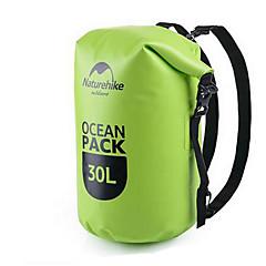 Naturehike 30 L Αδιάβροχη τσάντα Ξηρός Αδιάβροχη σανίδα Αδιάβροχη Φοριέται για Αναρρίχηση Κολύμβηση Παραλία Σέρφινγκ Κατασκήνωση &