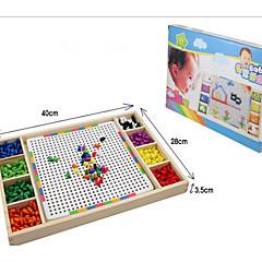 Legpuzzels DHZ-kit Houten puzzels Bouw blokken DHZ-speelgoed Vierkant Hout