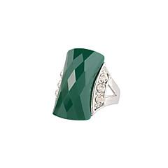 Γυναικεία Δαχτυλίδι Μοντέρνα Euramerican Προσομειωμένο διαμάντι Κράμα Κύκνος Κοσμήματα Για Γάμου Γενέθλια Causal