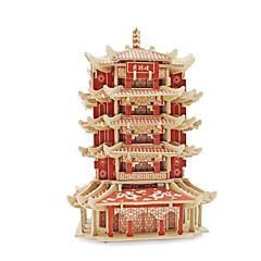 3D-puzzels Legpuzzel Speeltjes Beroemd gebouw Architectuur 3D Unisex Stuks