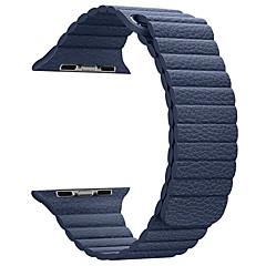 Cordão de couro para série de maçã série 1 2 38mm bracelete de couro de substituição de 42mm