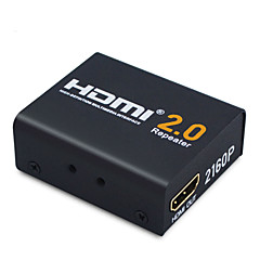 HDMI 2.0 Καλώδιο επέκτασης, HDMI 2.0 to HDMI 2.0 Καλώδιο επέκτασης Θηλυκό - Θηλυκό 4K*2K Επίχρυσο χαλκό 19 Gbps