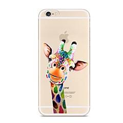 Voor iPhone X iPhone 8 Hoesje cover Transparant Patroon Achterkantje hoesje dier Zacht TPU voor Apple iPhone X iPhone 7s Plus iPhone 8
