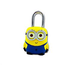Jy-80060 ABS υλικό κωδικό λουκέτο 3 ψηφία κωδικός πρόσβασης μίνι κλειδαριά κίτρινο μπόξερ κλείδωμα κλειδώματος αντικλεπτικό ντουλάπι
