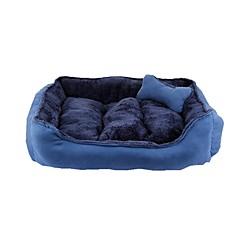 Hond bedden Huisdieren manden Koffie Rood Blauw Khaki Willekeurige kleur
