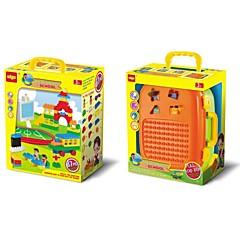 3D - Puzzle Für Geschenk Bausteine Kreisförmig Rechteckig Kunststoff 5 bis 7 Jahre Spielzeuge