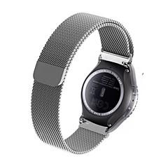 20mm akıllı saat milanese strap - silver (samsung s2)
