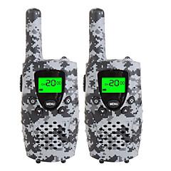 Tartós camo walkie talkies gyerekeknek 22 csatornás mikro usb töltés 3 mérföld (max. 5miles) frs / gmrs kézi mini walkie hangos