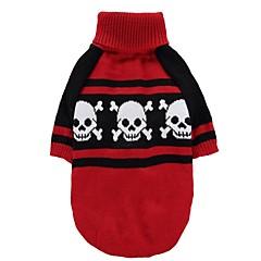 Kot Pies Płaszcze Swetry Ubrania dla psów Imprezowa Cosplay Codzienne Zatrzymujący ciepło Ślub Halloween Święta Bożego Narodzenia