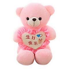 Zabawki Niedźwiedź Zwierzę Coral Fleece Len / bawełna Wszystkie grupy wiekowe