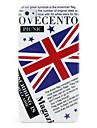 protetora caso abs duro para iphone 4 e 4S (uk bandeira e do jornal)