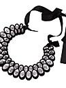 Элегантное ожерелье, с большими кристаллами