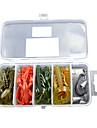 Soft Bait Shrimp/Worm/Hook /Fishing Lure Packs (26pcs)