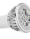 6W GU10 Lampadas de Foco de LED 4 LED de Alta Potencia 330 lm Branco Quente / Branco Frio AC 85-265 V 10 pcs