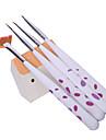 4PCS Nail Art Pen Pintura Kits Escova