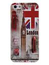 Башня с часами Англии шаблон жесткий футляр для iphone 5/5s