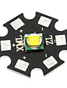 20mm CREE XM-L2 U2 960lm Cool White Bulb Board for Flashlight - Black + Grey