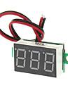 """V20D 0,56 """"LED Dois Linha 3-Digital Direct-Current Module voltimetro Meter - Branco + Verde (DC 2.5 ~ 30V)"""