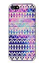Dazzle Hard Case PC de modèle géométrique pour iPhone 5/5S