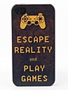 Escape Reality Style Protective Back Case for iPhone 4/4S