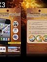 Protecteur d'écran HD de protection pour HTC M7 (3PCS)