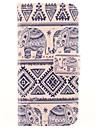 Для Кейс для iPhone 5 Кошелек / Бумажник для карт / со стендом / Флип Кейс для Чехол Кейс для Слон Твердый Искусственная кожаiPhone