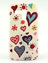 Colorful Daisy and Heart Pattern Plastic Hard Case for Motorala Moto G