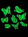 luzes casa romantica noite absorptiometric adesivos de borboleta