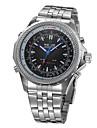 WEIDE® Men\'s Watch Dress Watch Dual Time Zones Water Resistant Analog-Digital Display Cool Watch Unique Watch