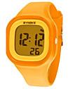 Женские Нарядные часы Модные часы электронные часы Наручные часы Кварцевый Цифровой силиконовый Группа Оранжевый