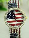 Женские Модные часы Кварцевый сплав Группа Блестящие Разноцветный бренд-