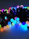 marsing® decoraçao 5m 8W 50 levou modos festival partido bola flash de luz multi-color strip - (AC110-220V)