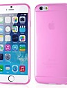ultrafino silicone transparente Capa para iPhone 6s 6 mais