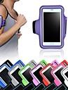 Pour Avec Ouverture Brassard Coque Brassard Coque Couleur Pleine Flexible Tissu pour Universel iPhone 6s Plus/6 Plus