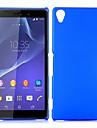 Pour Coque Sony / Xperia Z3 Antichoc Coque Coque Arriere Coque Couleur Pleine Dur Polycarbonate pour Sony Sony Xperia Z3