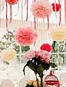 8 인치 종이 꽃 파티 장식 - 4 (더 많은 색상) 세트