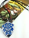 Jóias Inspirado por The Legend of Zelda Fantasias Anime/Games Acessórios de Cosplay Colares Azul Liga Masculino