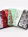 Elegant Design  Pattern  PC Soft Cover for iPhone 6 Plus (Assorted Colors)