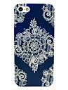 motif de fleurs mandala étui rigide pour iPhone 5c