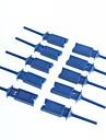 Test Hook Clip Test Clips Logic Analyzer Wiring Hook (10Pcs)