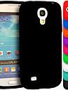 삼성 갤럭시 S4 미니 i9190에 대한 큰 D 실리카 겔 소프트 케이스 (모듬 색상)